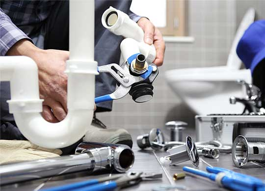 TLC Plumbing Inc. servicing a residential sink